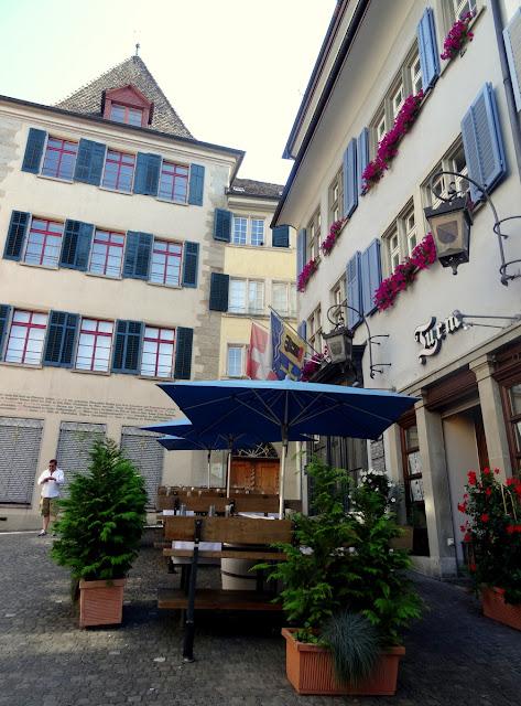 Restaurant Turm, Zunfthaus zur Letzi