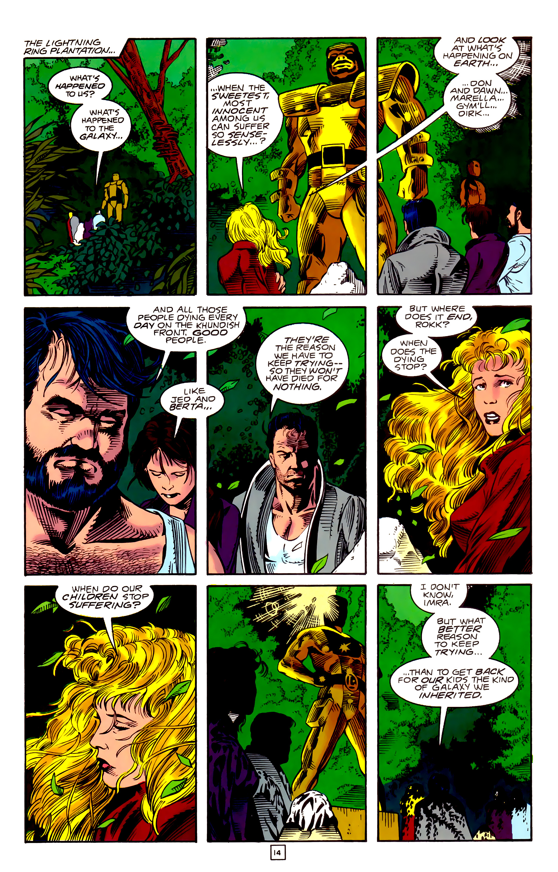 Legion of Super-Heroes (1989) _Annual_3 Page 41