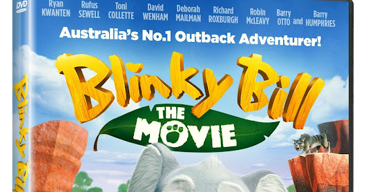 Win A Blinky Bill The Movie DVD & Plush Toy