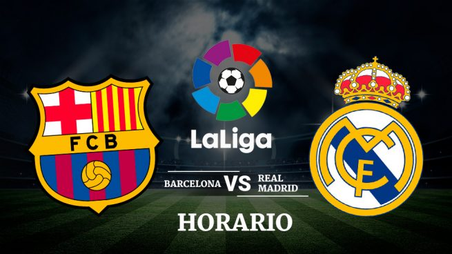 Barcelona vs. Real Madrid: Horario y dónde ver en vivo