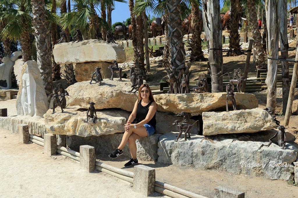 Jardín de Escultura africana de Buddha Eden