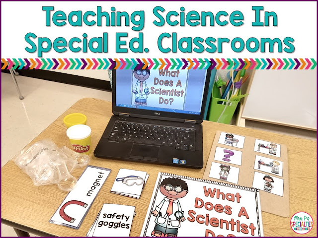 We need to immerse students in these concepts and vocabulary to help them learn the science information. One of the ways I immerse students in the science unit is to incorporate the unit materials across our day. I add the unit materials to our centers, task boxes, word wall, reading centers, etc.