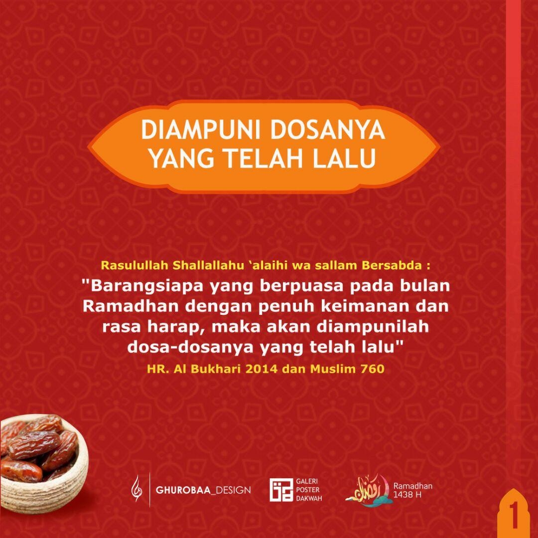 40 Hadits Shahih Di Bulan Ramadhan