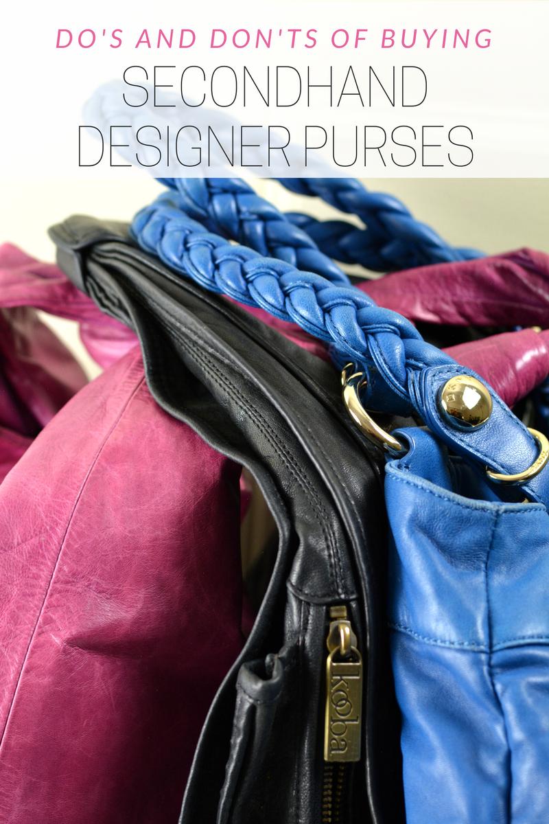 secondhand designer purses