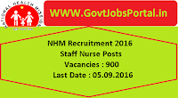 National Health Mission Recruitment 2016