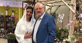 An Egyptian woman has  claimed to be  secretly  married to the late  journalist Jamal Khashoggi,and also  presenting pictures of the two of them together at their wedding in the U.S. in June.