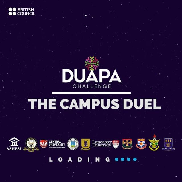"British Council Launches Duapa Challenge ""THE CAMPUS DUEL"""