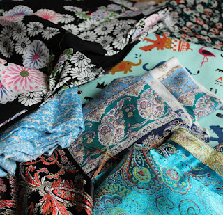 Fabric haul // Embellished Elephant