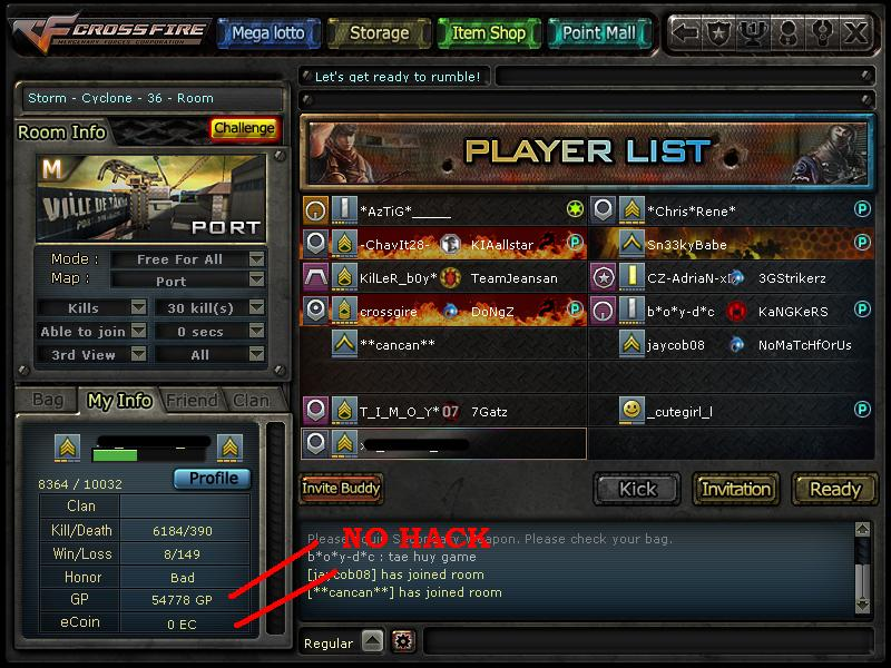 ♫Crossfire Cheat♫: Crossfire PH Hack GP And Ecoin V1 0
