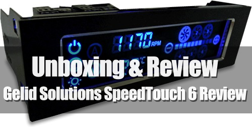 Unboxing& Review - Gelid Solutions SpeedTouch 6 Fan Controller 31