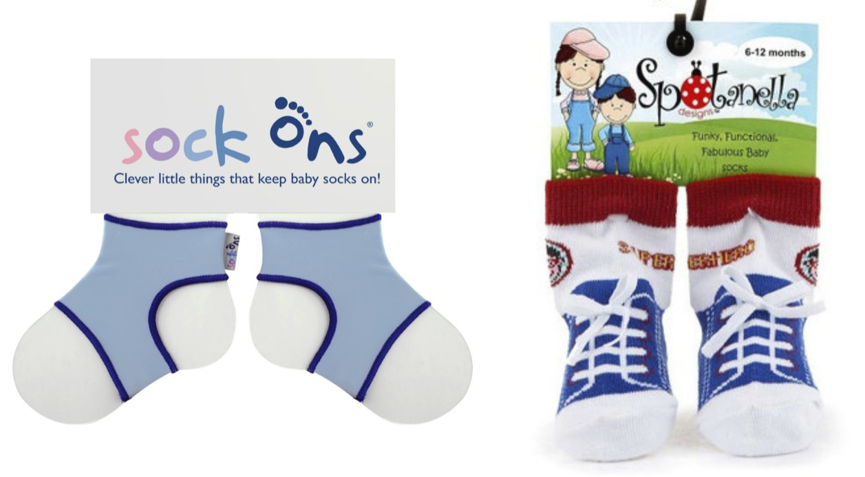 sock ons, superhero socks, little boy socks