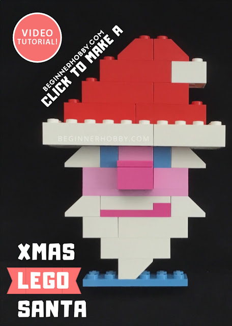 Christmas Lego Santa Poster