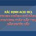 Phân tích chỉ tiêu trong không khí - xác định ACID HCl - Phương pháp hấp thụ bằng nước cất