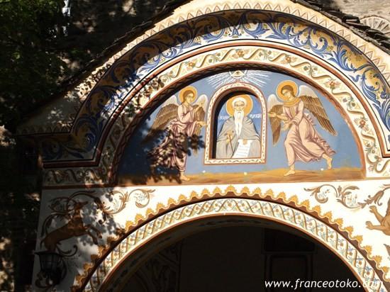 ブルガリアの風景、ブルガリア観光、旅行、リラ修道院