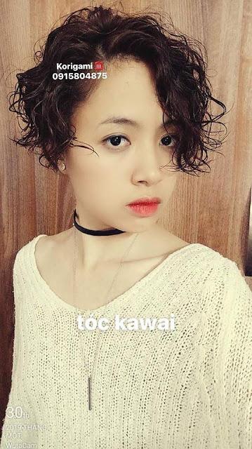 mái tóc ngắn Tomboy Kawai đẹp nhất 2019-2020