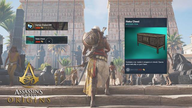 assassin's creed origins loot box