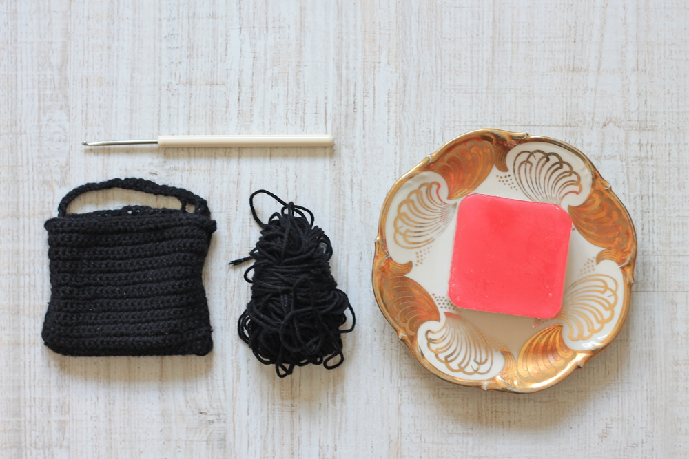 diy soap saver pouch