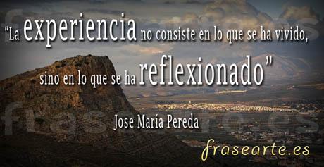 Frases para la vida, Jose María Pereda
