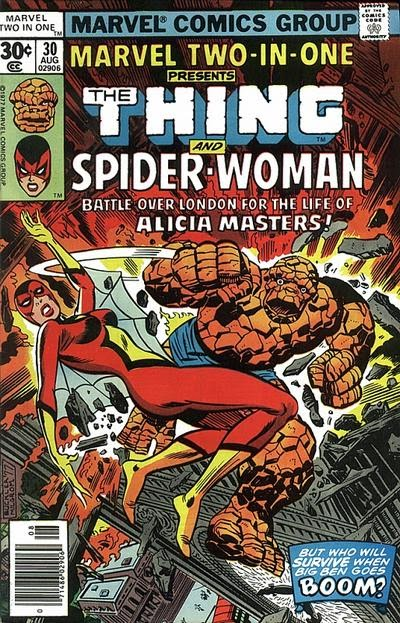 Marvel Two-In-One 30 - La Cosa y Spider-Woman