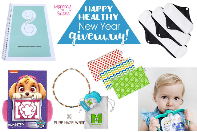 Happy Healthy New Year Giveaway, Ends 1/19