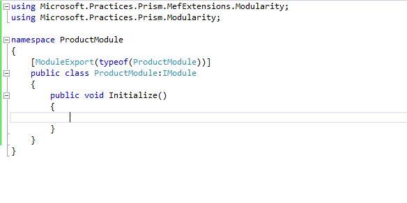 C# Programming for beginners: Microsoft PRISM Modularity