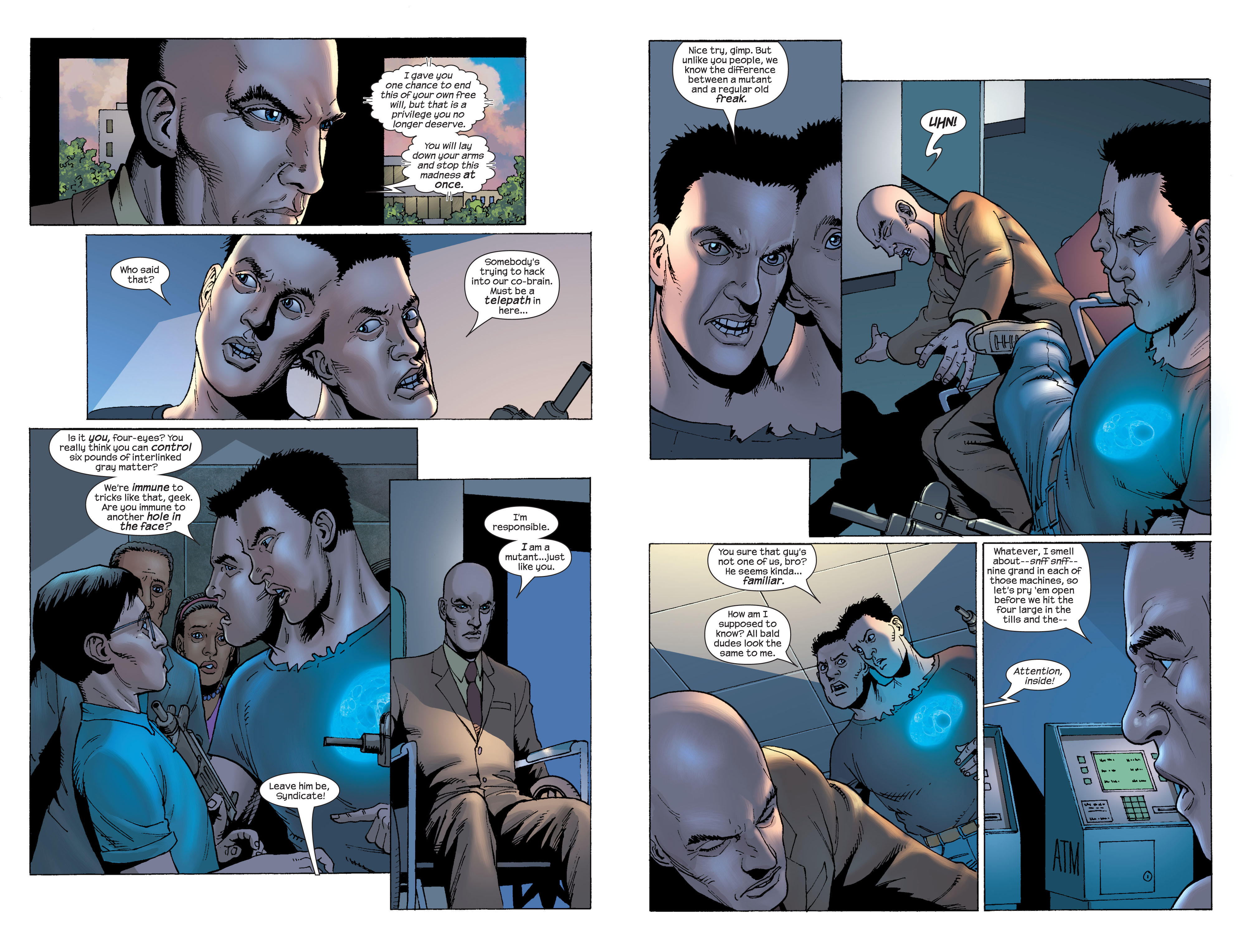Read online Ultimate X-Men comic -  Issue #58 - 7