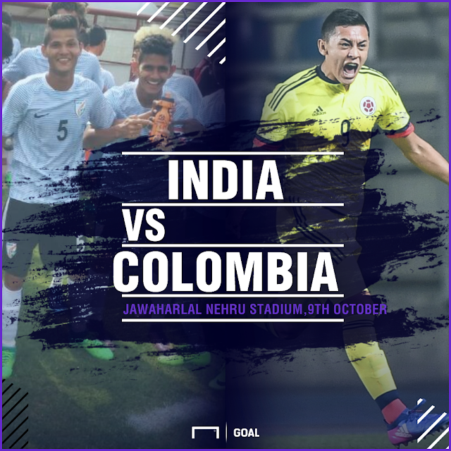 FIFA U-17 World Cup 2017, India vs Colombia Preview