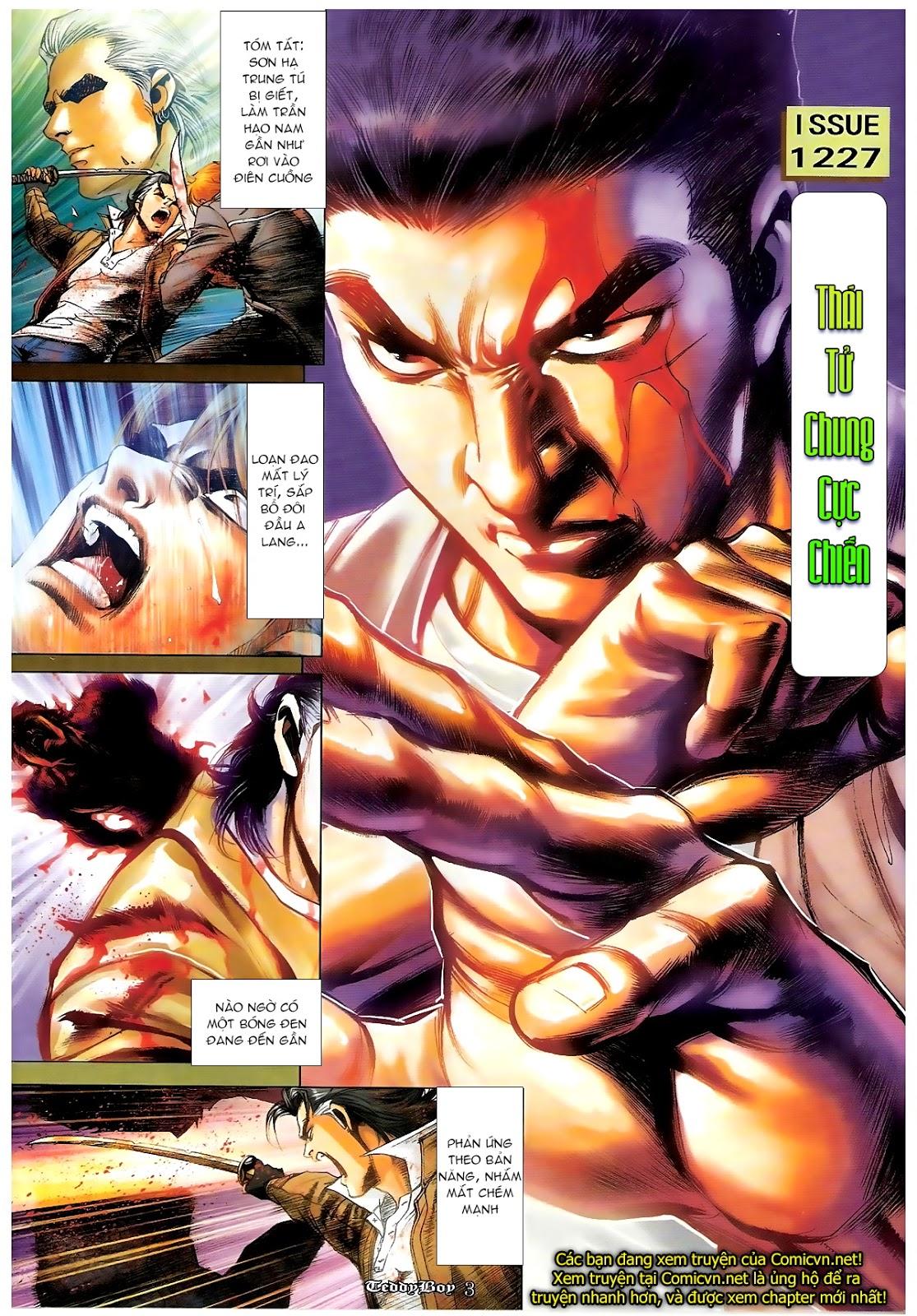 Người Trong Giang Hồ - Chapter 1227: Thái Tử Chung Cực Chiến - Pic 2