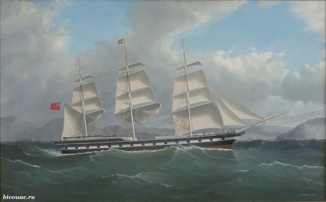 История, Клипер, Парусник, Парусное судно, Парусный корабль, Самый быстрый парусник, Чайные гонки, Чайный клипер,