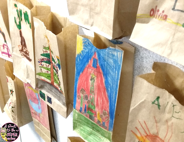 RACK Sacks - An easy idea to bring kindness into your classroom for the holidays PLUS 3 Holiday Freebies to make your life easier this December!