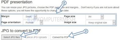 Cara Mengubah JPG ke PDF di Laptop & Hp Android