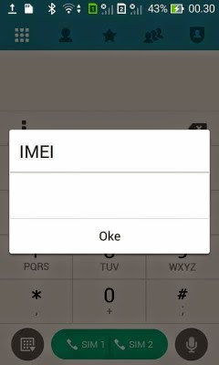 memperbaiki IMEI Zenfone 4 hilang