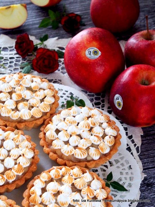 ciastka z jablkami, tartaletka, mini jablecznik, szarlotka, jablko, jablka grojeckie, najlepsze, red jonaprince