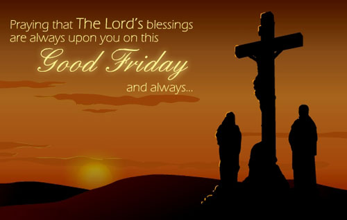 Good Friday Bible Verses 2017
