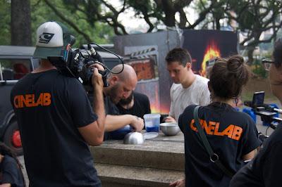 Cena de episódio de Cinelab - Divulgação
