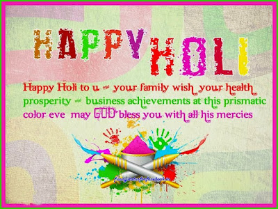 Happy Holi Quotes Image For Facebook