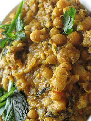 chickpeas with tamarind