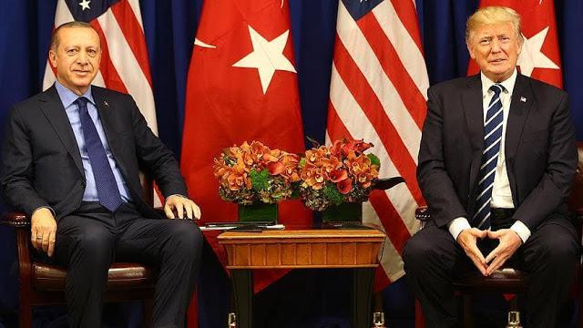"""Dihadapan Trump, Erdogan """"look like a boss"""" (Terlihat Seperti Bos)"""