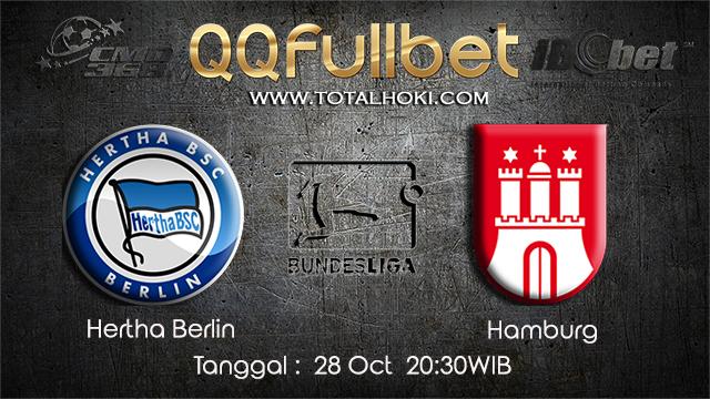 PREDIKSIBOLA - PREDIKSI TARUHAN BOLA HERTA BERLIN VS HAMBURG 28 OCTOBER 2017 (BUNDESLIGA)