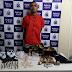 Traficante é preso em flagrante com crack, maconha e cocaína em Valença