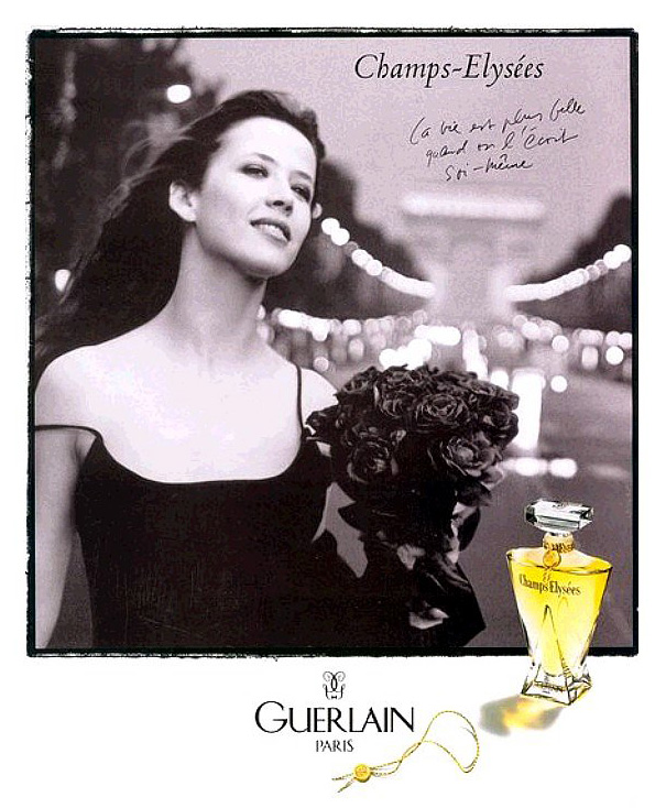 the face of beauty celebrity fragrance sophie marceau is the face of guerlain s fragrance. Black Bedroom Furniture Sets. Home Design Ideas