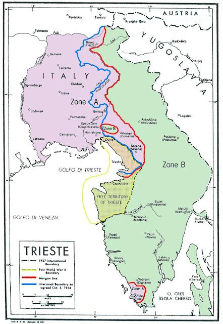 Trieste Pola Pula WW2