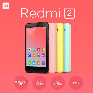 Perkenalkan smartphone andalan saya saat ini, Xiaomi Redmi 2 Pro (HM2014813). Smartphone android tercanggih saat ini versi saya.