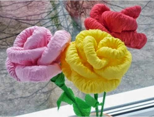 How To Make Diy Napkin Paper Flowers Simple Step By Step With