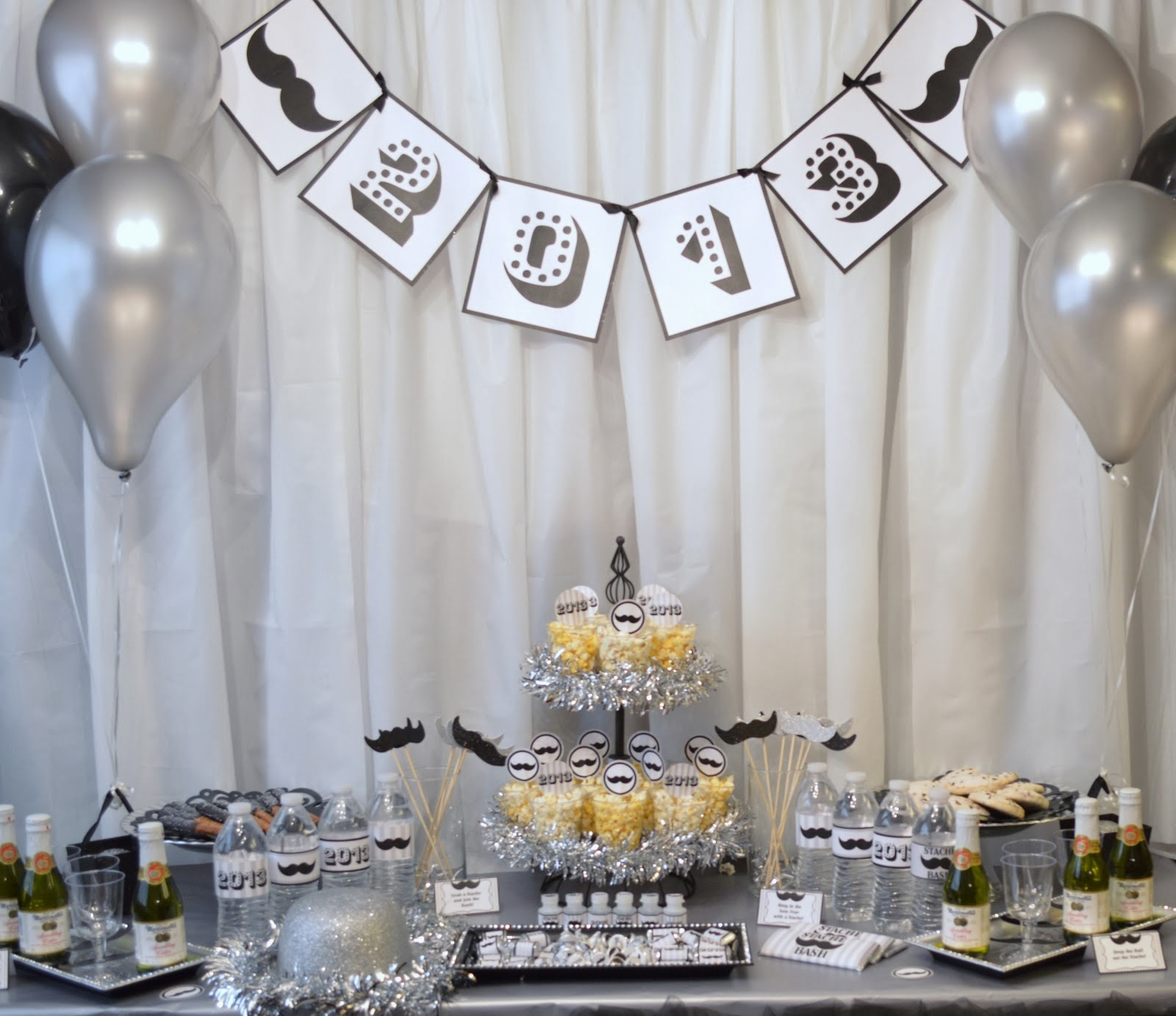 new years eve party decor ideas - 970×837