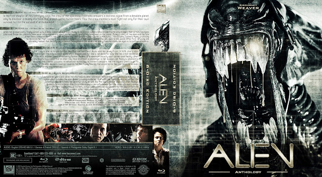 Capa Bluray Alien Anthology