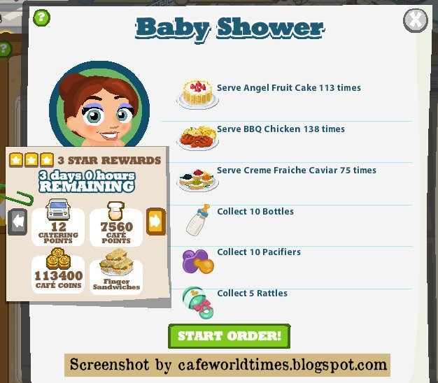 Cooking Tale: Baby Shower