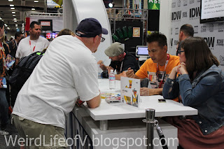 Signings at the IDW Publishing booth