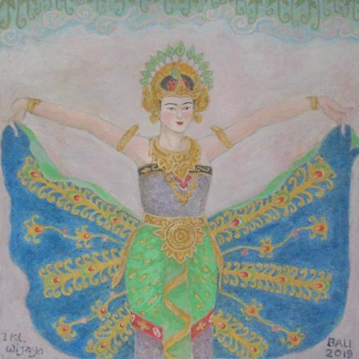 Merak Angelo Dance Bali, Tari Merak Angelo Bali