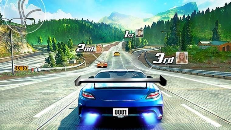 Street Racing 3D Game Start